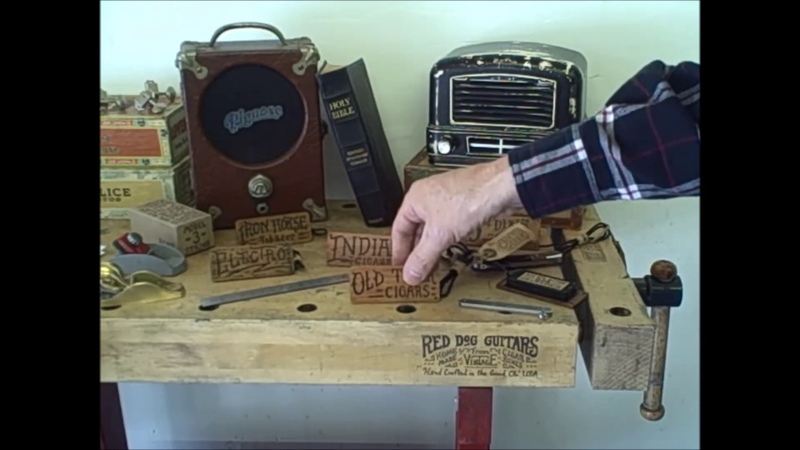 Cigar Box Guitar Pickups For Sale ~ 3 and 4 String Americana ~ Old West Red Dog Guitars USA