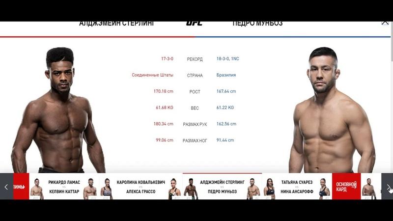 Прогноз MMABets UFC 238 Стерлинг Муньос Ковалькевич Грассо Выпуск №151 Часть 3 6