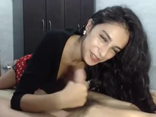 Indian girl sucks fat cock and fucks