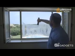 Удобная штука для мытья окон