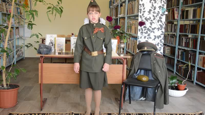Т Сыромятникова Диалог ровесниц читают Силаева Анна Шмакова Анастасия