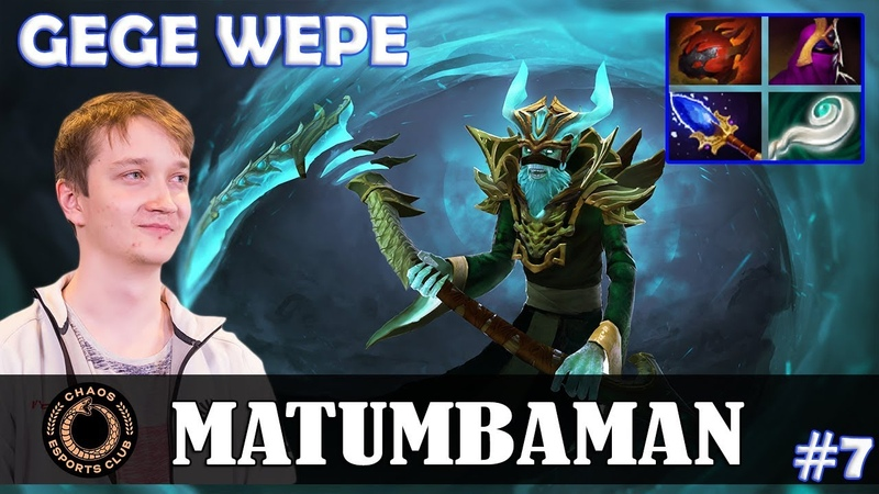 MATUMBAMAN - Necrophos Offlane | GEGE WEPE | Dota 2 Pro MMR Gameplay 7