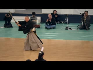 Muso Jikiden Eishin Ryu Iaijutsu - Sekiguchi Takaaki - 42nd All Japan Kobudo Demonstration