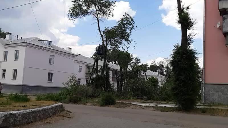Кронирование деревьев п. ГРЭС