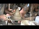 Aula de torno de cerâmica
