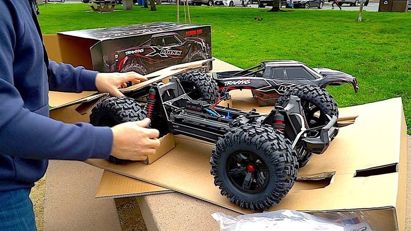 Traxxas X-MAXX Unboxing | RC First Run