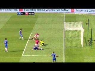 "Javier ""Chicharito"" Hernandez Funny Goal vs Chelsea"