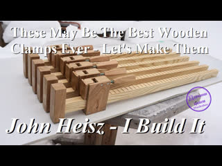 These may be the best wooden clamps ever - let's make them