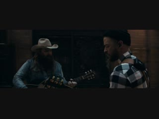 Премьера. justin timberlake feat. chris stapleton - say something (первый дубль)