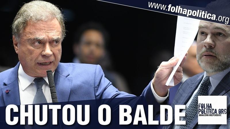 Senador Álvaro Dias 'chuta o balde' sobre contradições do STF e denuncia abusos Lava Toga