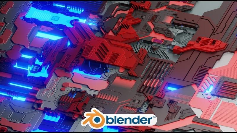 Blender - Easy Sci-Fi Landscapes (JS Placement)