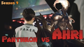 Faker - Pantheon vs Ahri Mid - Patch  LoL Season 9 KR Ranked | League of Legends Replays
