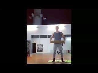 Back flip balance