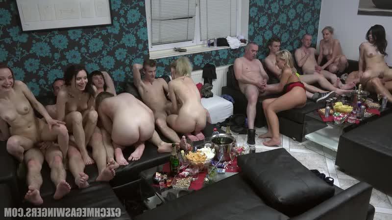 Czech: Czech Mega Swingers 20 part 8 (porbo, czechav, couples, orgy, homemade, party, full, hd, sex, cumshot,