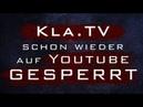 Kla schon wieder auf Youtube gesperrt | kla/gesperrt