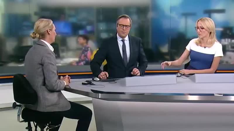 WELT INTERVIEW_ Alice Weidel - _Regierung verzapft wirtschaftsfeindliche Politik_ [360p]