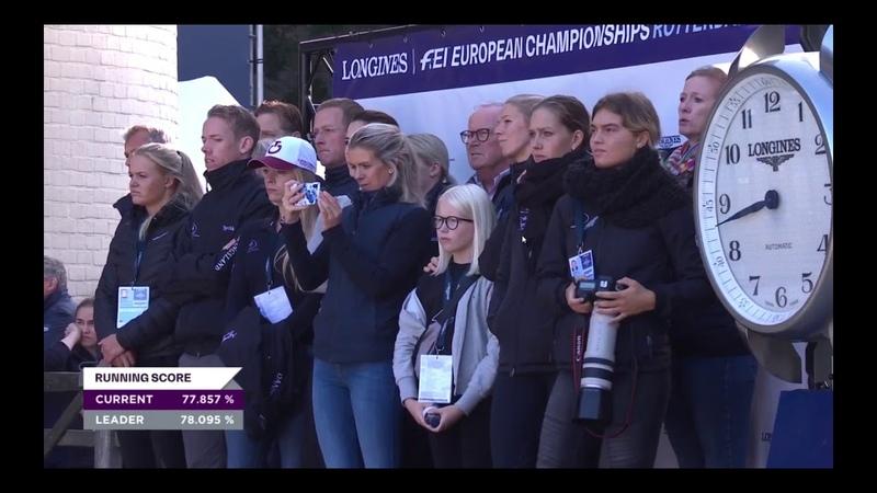 Daniel Bachmann Andersen og Blue Hors Zack Grand Prix FEI Dressage European Championships 2019