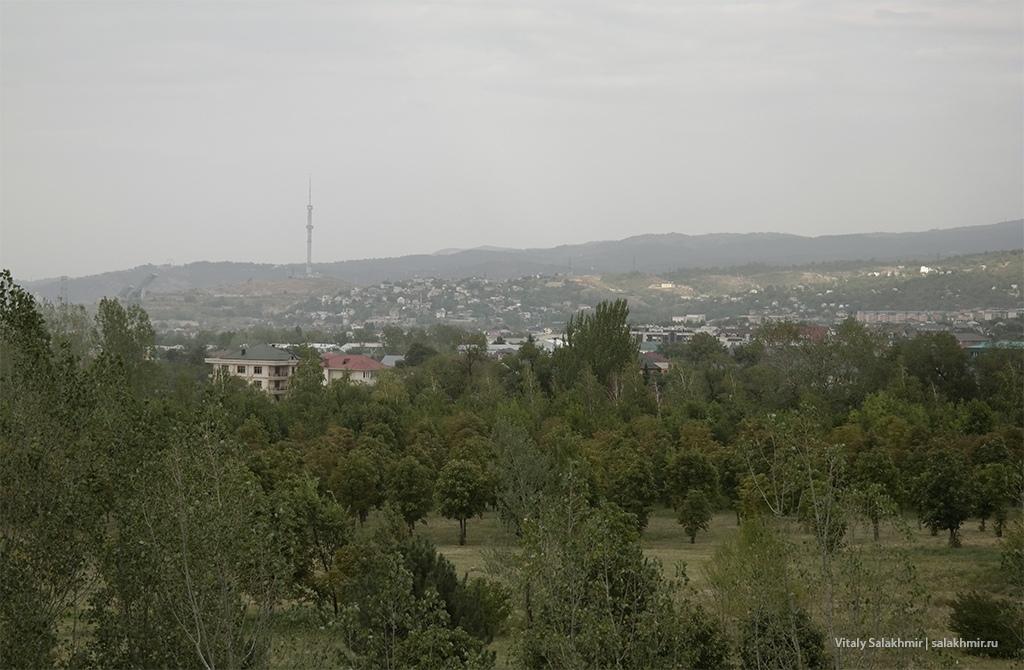 Телебашня в Алматы, обзор от Парка Первого Президента
