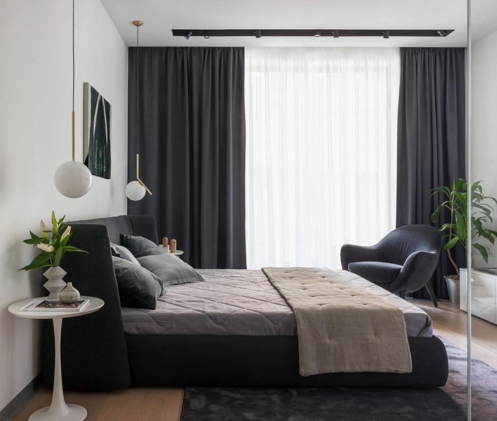 Интерьеры апартаментов клубного дома Smolensky De Luxe
