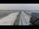 Переходим волгу в районе Никольского небольшая волна Вятбот 430 Ямаха 30 HWCS
