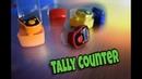 Счетчик количества Tally counter ✴ Как работает. Характеристики. Тест