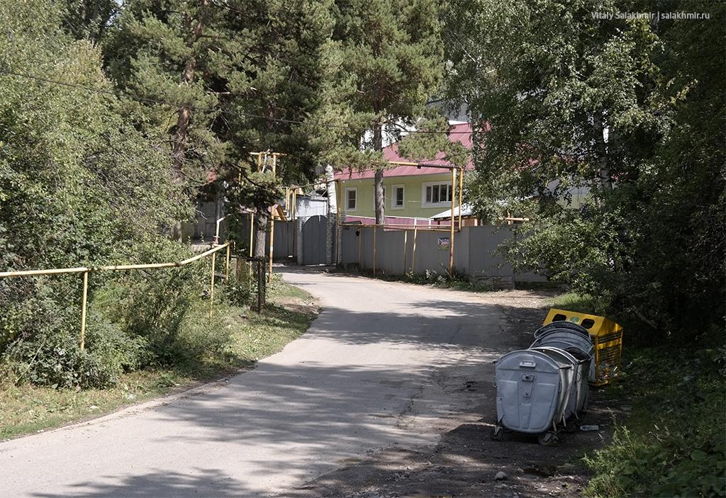 Контейнеры в Каменском плато, Алматы, Казахстан 2019