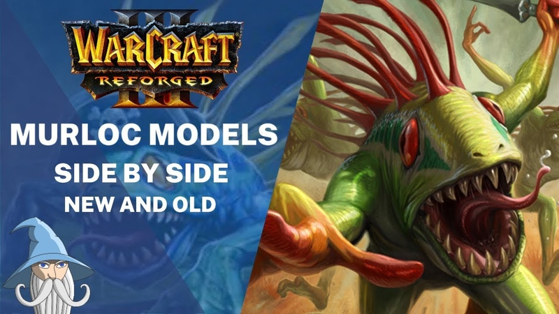 New Murloc Models Side by Side with Old Models | Warcraft 3 Reforged Beta