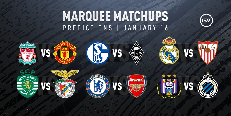 FIFA 20 Marquee Matchups Predictions: January 16th