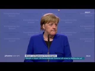 Merkel gibt betrunken ihre pressekonferenz 2019