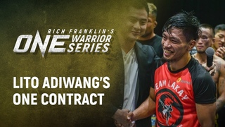 Rich Franklin's ONE Warrior Series | Best Moments: Lito Adiwang's ONE Contract