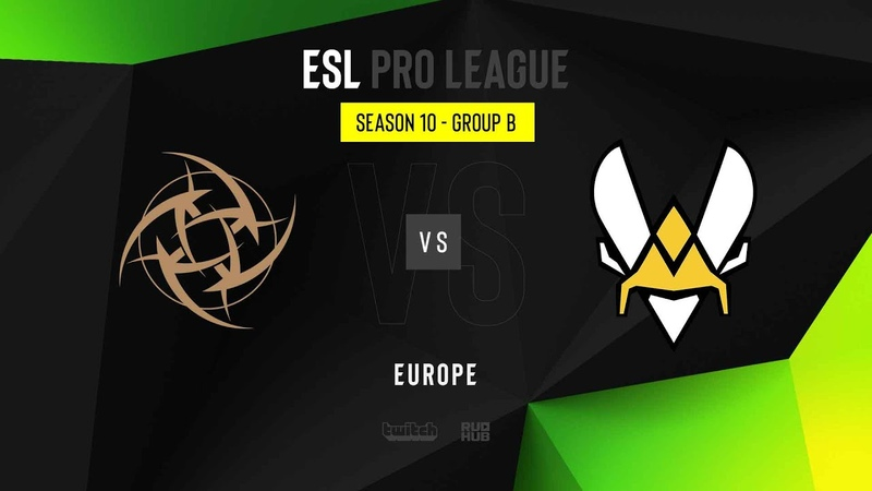 NiP vs Vitality - ESL Pro League Season 10 EU - map2 - de_dust2 [Gromjkee Eiritel]
