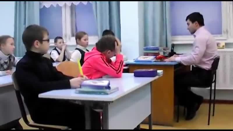 Эльбрус Мамалиев В гостях у Тохтуевской средней школы
