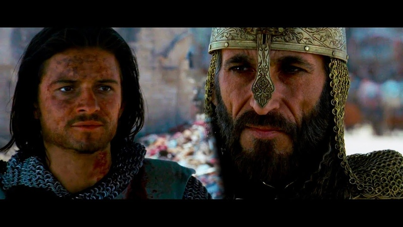 Переговоры Саладинна с Балианом О Сдаче Города Царство небесное 2005 Момент HD