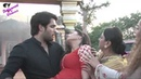 On location of TV Serial 'Madhubala' RK saves Madhu from fire, gets cured