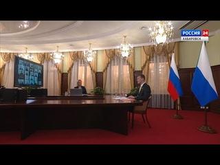 Пресс-конференция врио губернатора Хабаровского края Михаила Дегтярёва