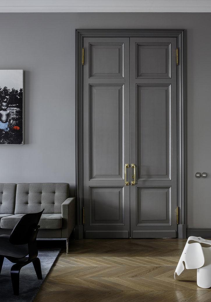 Новая стильная жизнь бывшей коммуналки в Москве (90 кв.