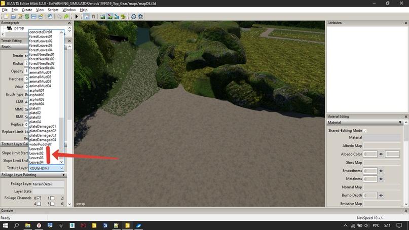 FS19{Tutorial} Как создать свои текстуры для рисования на земле, изображение №30