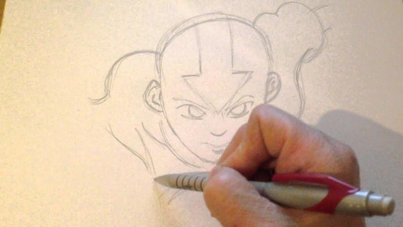 Как рисовать человека, рисуем, Аватар мультфильм, Sketch paint, film Avatar, Hand drawing