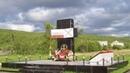Открытие памятника морским пехотинцам 61-й бригады Северного Флота, погибшим в Чечне. 1995