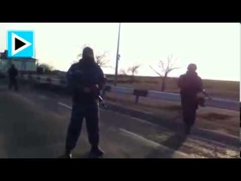 Беркут остановил активистов автомайдана в Красноперекопске при попытке прорваться в Крым