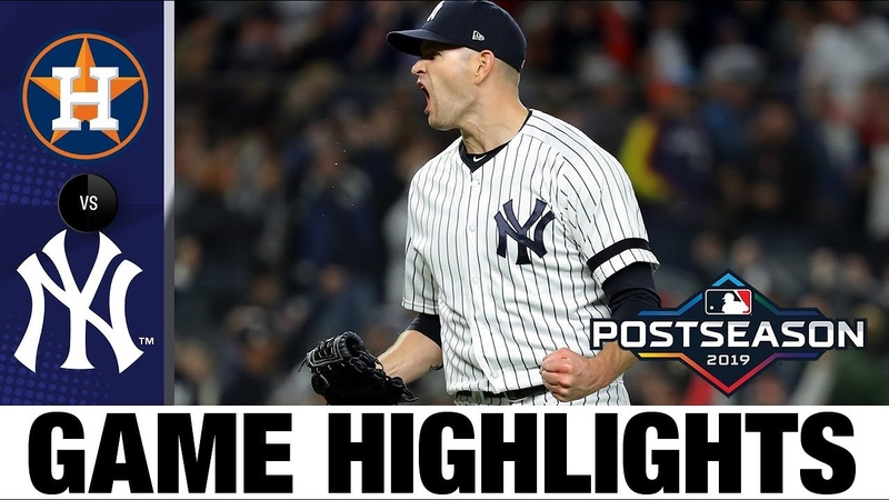 Hicks' 3-run jack lifts Yanks to Game 5 win | Astros-Yankees ALCS Game 5 Highlights