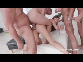Total DAP destruction Tina Kay - Almost All DAP Lots of TP tunnel Vision Gapes Facial GIO446