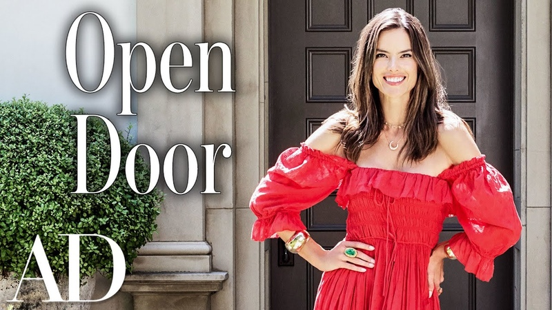 Inside Alessandra Ambrosio's Home Open Door Architectural Digest