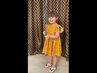 Платье 👗 с оборками |tim_hm|