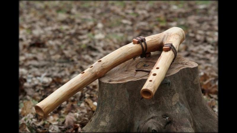 Poloe derevo drone native american flute Key G sound sample