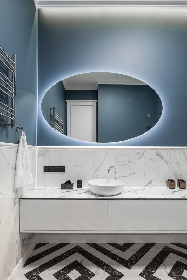 Квартира 110 м² для холостяка в Минске от студии Interra || 02