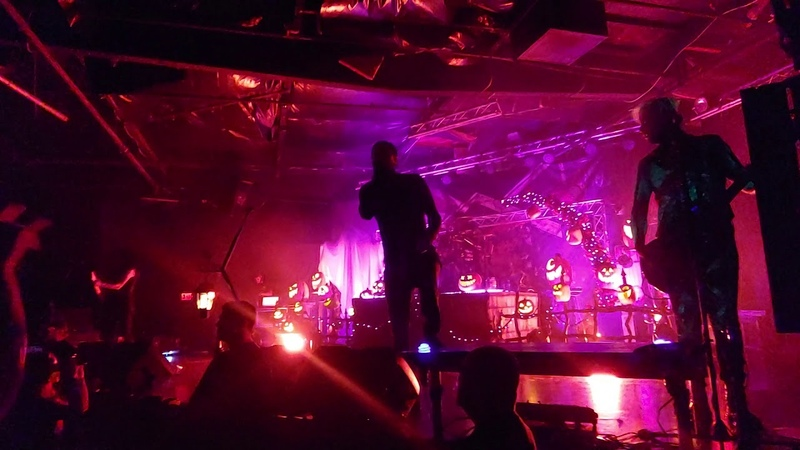 Motionless In White Undead Ahead 2 The Tale of the Midnight Ride live in Tucson AZ 2019