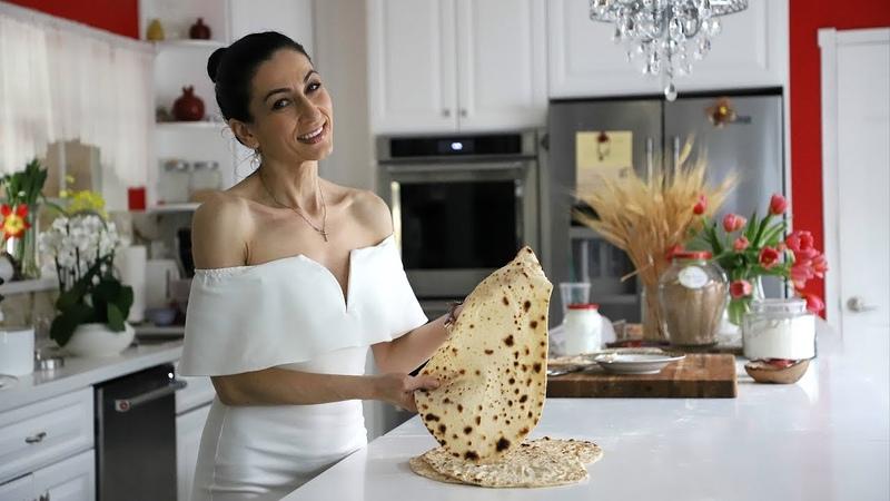 Армянский Лаваш в Домашних Условиях - Армянская Кухня - Рецепт от Эгине - Heghineh