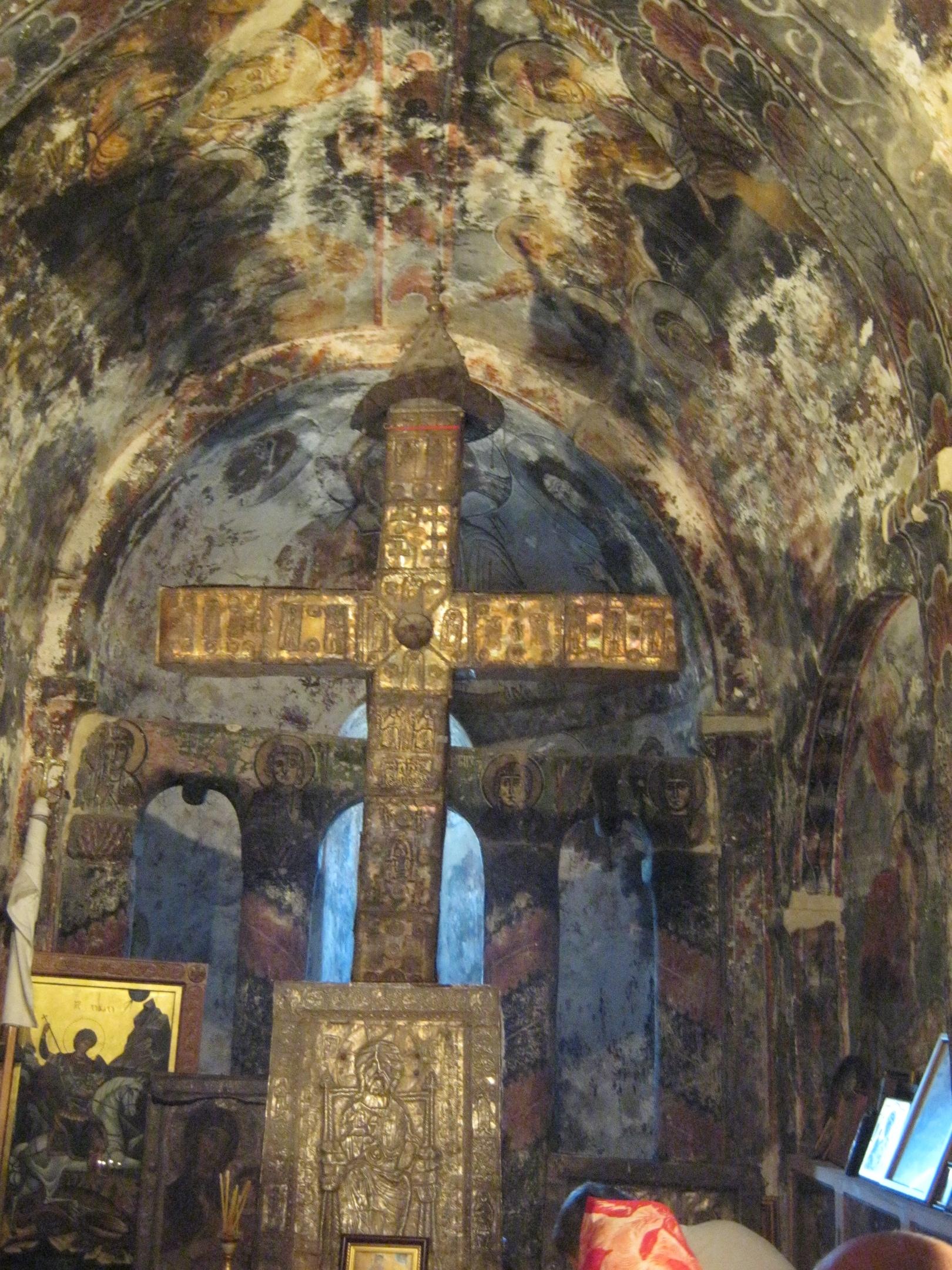 Церковь Квирике в Верхней Сванетии.