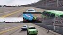 Cars King Crash (Forza Motorsport) in movie scenes reaction